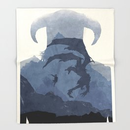 Skyrim (II) Throw Blanket