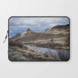 John Day River and Sheep Rock Laptop Sleeve