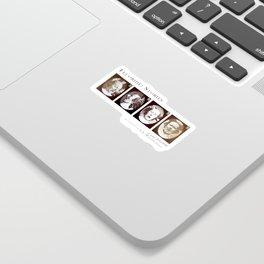 Fluoride - Cover Art Sticker