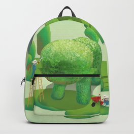 The Topiary Dog Backpack