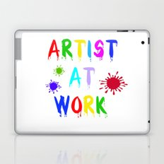 Artist at Work Laptop & iPad Skin