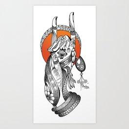 Apan Mudra Art Print