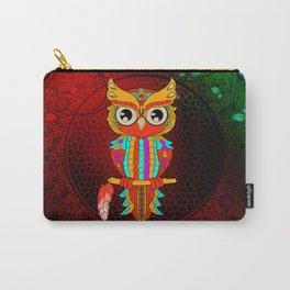 Wonderful owl, mandala design Carry-All Pouch