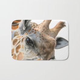 Eye Of The Giraffe Bath Mat