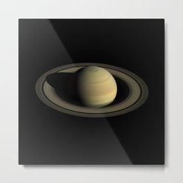 Saturn Metal Print
