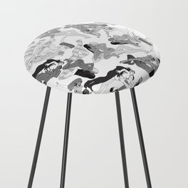 Wild Lines Counter Stool