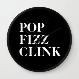 Pop Fizz Clink V2 Wall Clock