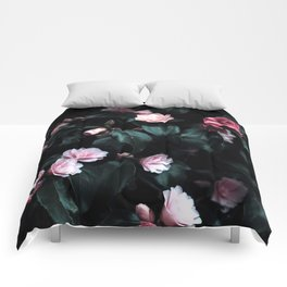 Dark Floral Comforters