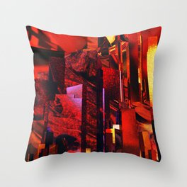 Q-City Six Throw Pillow