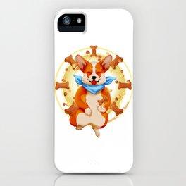Zen corgi iPhone Case