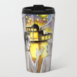 "Life is Infinitely Stranger"" - Holmes and Watson - 221B  Travel Mug"
