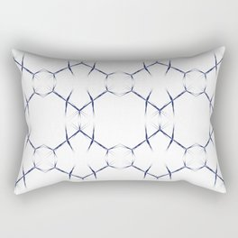 Sharp Angled Pattern Lines Rectangular Pillow