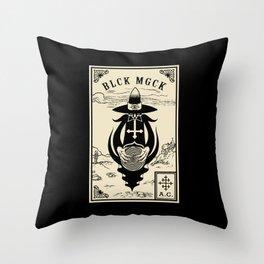 BLCK MGCK Throw Pillow