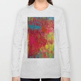 Tie-Dye Veins Long Sleeve T-shirt