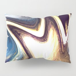 returning to the cosmos | Abstract Painting Pillow Sham