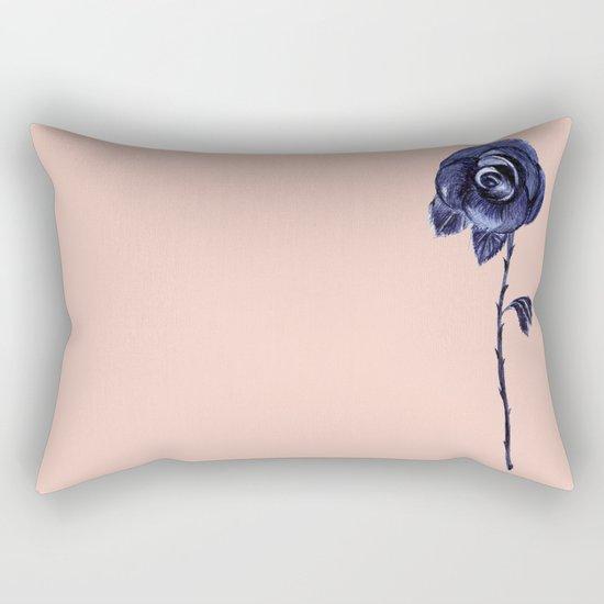 Rose Pink Rectangular Pillow