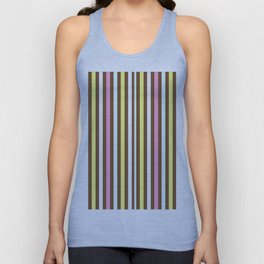 Day Stripes Unisex Tank Top