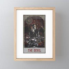 Hannibal Tarot - The Devil Framed Mini Art Print