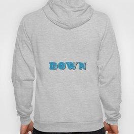 DOWN. Hoody