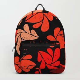 Afro Diva : Coral Red Backpack