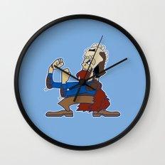 Evil Fighting Ash  Wall Clock