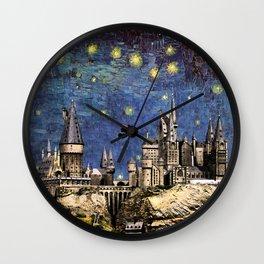 Hogwarts Starry Night Wall Clock