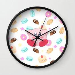 Kirby & Sweets Wall Clock