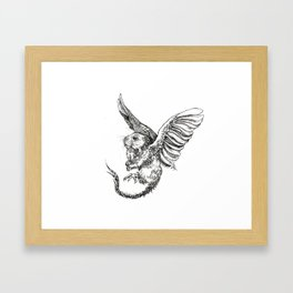 Whiskery Heights Framed Art Print