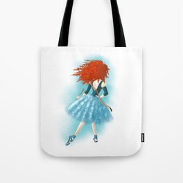 Red - Haired Lass Tote Bag