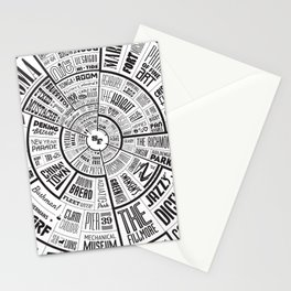 San Francisco Type Wheel Stationery Cards