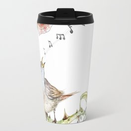 The nightgale and the rose Travel Mug