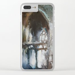 Abandoned Church 12 Clear iPhone Case
