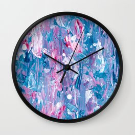 butterflies in my stomach Wall Clock