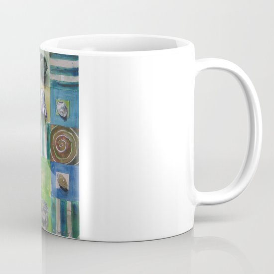 Shell and stripes Mug
