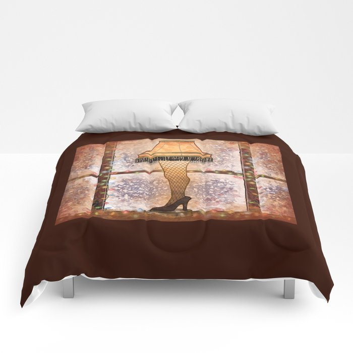 Fra-gee-lay Comforters