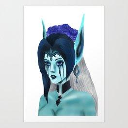 Morgana: Fallen Angel Art Print