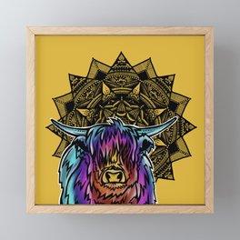 Highland Cow- Catalyst Ranch Framed Mini Art Print
