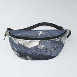 Mount Everest from the north side view in China Fanny Pack