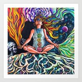 Goddess Rising Art Print