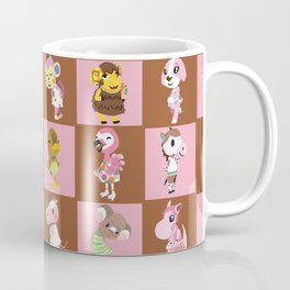 Animal Crossing: Chocolate Strawberry Coffee Mug