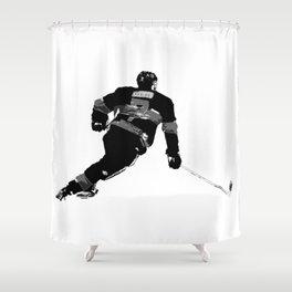 Born to Skate - Hockey Player Shower Curtain