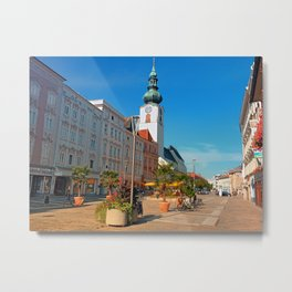 Summer in the city | architectural photography Metal Print