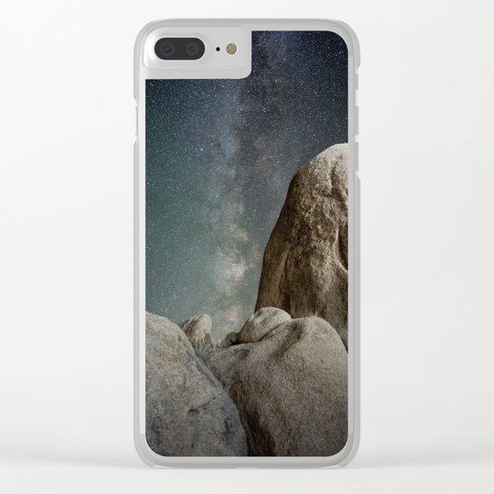 Night Adventures #milkyway Clear iPhone Case