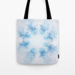 Frost on the Window Tote Bag