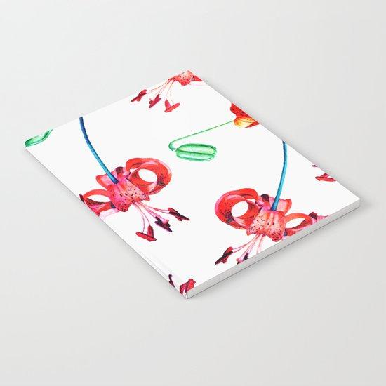 Hibiscus Pattern V2 #society6 Decor #buyart Notebook
