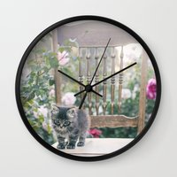 austin Wall Clocks featuring Austin by With Love & Lace...