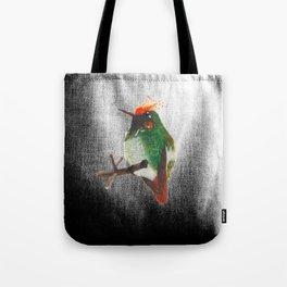 Rufous-crested Coquette Tote Bag
