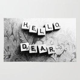 Hello, Dear Rug