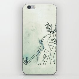The Husband Eater (sketch) iPhone Skin