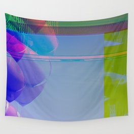 Yellow Helter Tide Wall Tapestry
